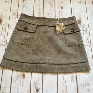 BNWT Tulle Herringbone Tweed Mini Skirt